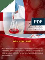 ISO 15189 - Medical Laboratory Accreditation