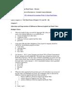 ACC 401 Advanced Accounting Week 11 Quiz