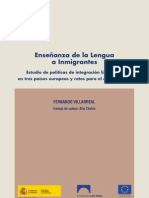 Enseñanza de la Lengua a Inmigrantes