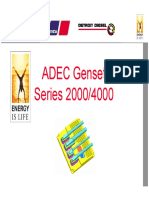 ADEC Genset Functions and Parameter