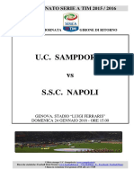 2015-16 Sampdoria Napoli