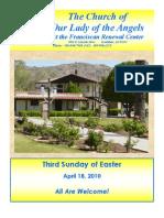 The Casa Bulletin - April 18, 2010