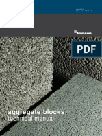 Aggregate Block Technical Manual