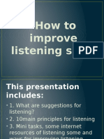 how to improve listening skill