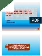 PPh Pasal 21_Pejabat Negara,PNS, Anggota TNI/POLRI dan pensiunannya