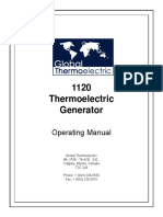 Teg 1120 Manual