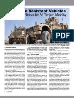 Light Mine Resistant Vehicles