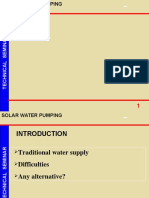 Solar Water Pumping