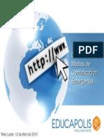 GUATEMALA Gestion de Medios Emergentes 12 y 13 Abril