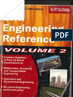 Civil Engineering Reference Volume 2