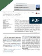 Linking environmental accounting to reward systems
