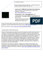Journal of Marketing Communications
