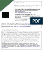 Journal of Marketing Communications