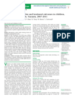 TB Case Burden & Treatmen Outcomes in Children, Adult, And Older Adult