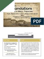 Translations Programme