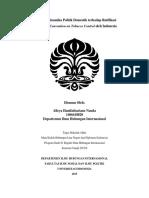 Pengaruh Dinamika Politik Domestik terhadap Ratifikasi Framework Convention on Tobacco Control oleh Indonesia