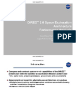 DIRECT 2-0 Space Exploration Architecture Performance Analysis