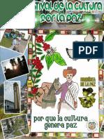 Programación VIII Festival de La Cultura Por La Paz - El Cairo-Valle
