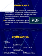 BIOMECANICA y MOVIMIENTO