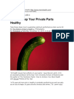 How to Keep Your Private Parts Healthy