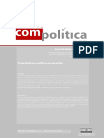 """Alburquerque, A. (2012). """"O Paralelismo Político Em Questiao"""