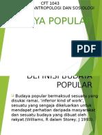 Budaya Popular