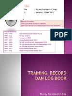 02. Anykur ( Log Book Dan Training Record )