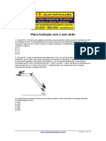 Dinâmica Dos Bloquinhos - Plano Inclinado Com e Sem Atrito