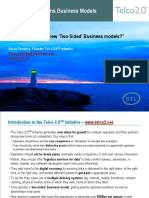 Two Sided Telecoms Business Models