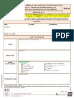 Fiche d'Agrément UE 7 DSCG 2016- Version Complète