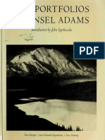 The Portfolios of Ansel Adams (Photo Art eBook)
