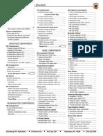 Ems i Inspection Checklist