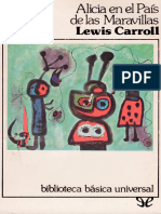 Carroll, Lewis - Alicia en El Pais de Las Maravillas (Trad. Graciela Montes) [18126] (r1.1)