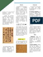 Tríptico La Escritura (1)