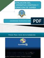 Instalacion Samba Linux en Centos 5
