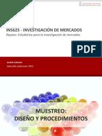 Estadistica para La Investigacion de Mercados