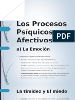 1abc Los Procesos Psíquicos Afectivos