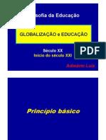 Filosofia da Educação - GLOBALIZAÇÃO e EDUCAÇÃO