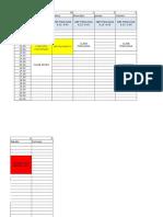Calendario Clases