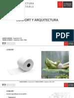 Diseño Pasivo 1 Confort y Arquitectura