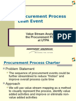 Procurement Process Lean Event