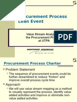 Procurement Process Lean Event | Procurement | Leadership