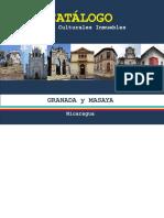 CATALOGO BIENES CULTURALES INMUEBLES Departamentos de GRANADA y MASAYA.pdf