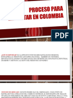 Proceso Para Importar en Colombia