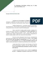 Petição - Especificação Cláusulas Revisional e Adequação Valor Da Causa