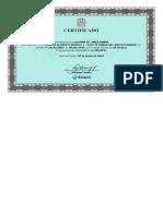 Certificado - Curso Estácio Acredita Módul i