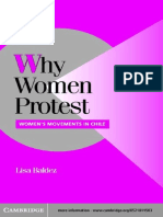 Baldez-Why Women Protest_ Women's Movements in Chile -Cambridge University Press (2002)