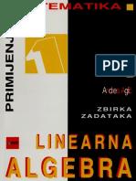 Neven Elezović Andrea Aglić Aljinović Zbirka zadataka linearna algebra