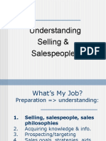 Understanding Selling and Sales People