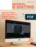 Workflow Batch Process Color Adjustments Lightroom P